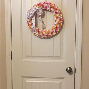 Indoor/outdoor wreath handmade